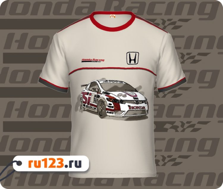 Honda футболка