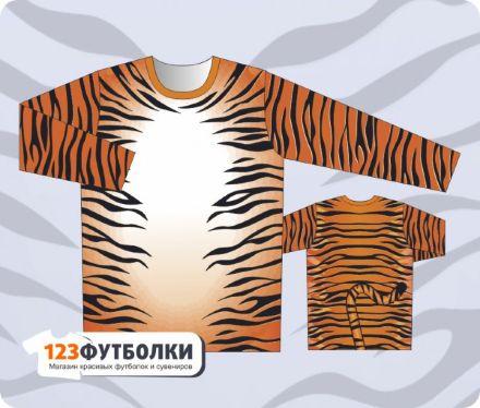 Кофта с тигром доставка