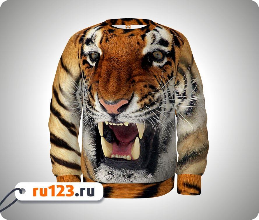 Кофта С Тигром