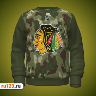 Свитшот Chicago Blackhawks NHL