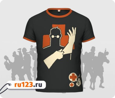 Футболка Team Fortress 2