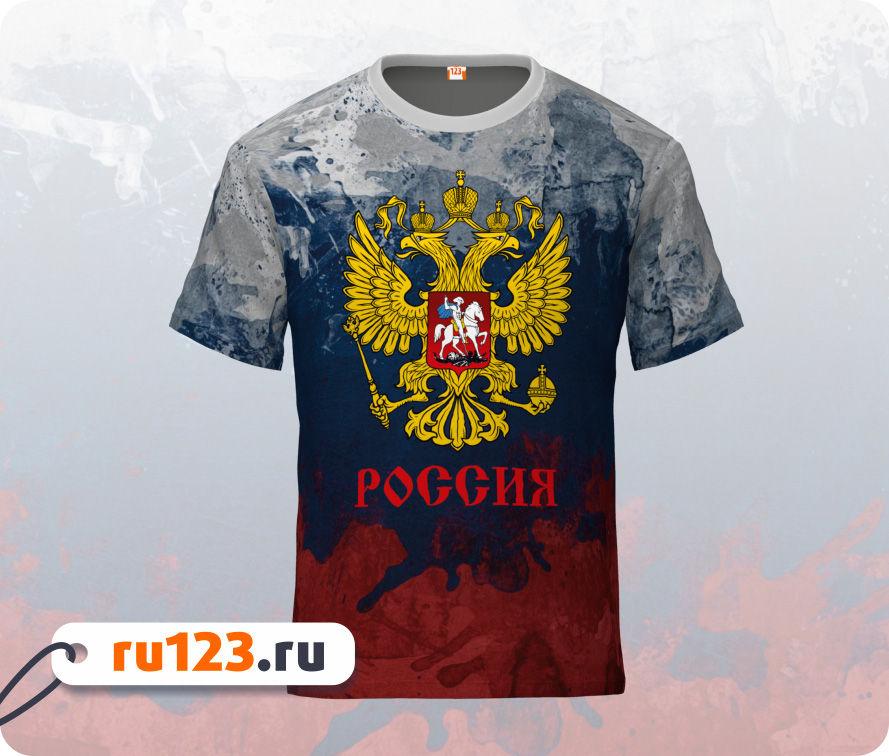 b11b927782b4e Футболка Россия Герб Рф купить : мужские, женские, большой ...