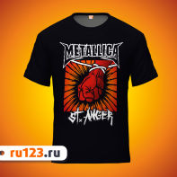 Футболка Metallica St. Anger