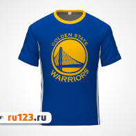 Футболка NBA Golden State Warriors