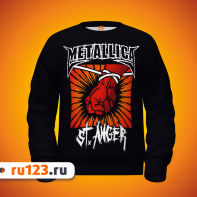 Толстовка Metallica St. Anger