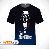 Футболка I Am Your Father