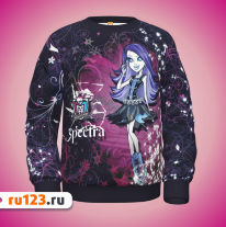 Свитшот Monster High – Spectra