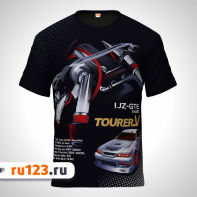 Футболка 1JZ-GTE Mark 2 JZX100 TourerV
