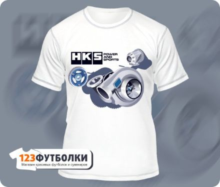 Футболка HKS Power and Sports форматная