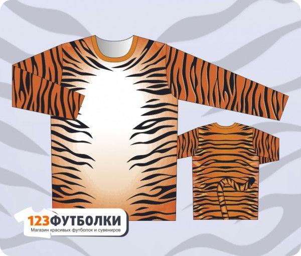 Кофта с тигром с доставкой